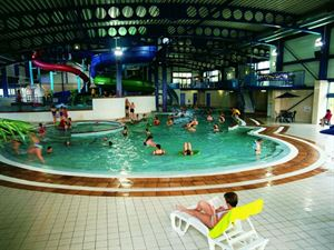 Indoor pool complex is great for all the family