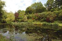 Hidden Valley has a pretty ornamental lake