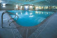 Holgates Silverdale has a stunning indoor pool