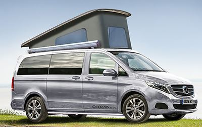 Luxury Campervan Launched By Horizon Mcv Motorhome News
