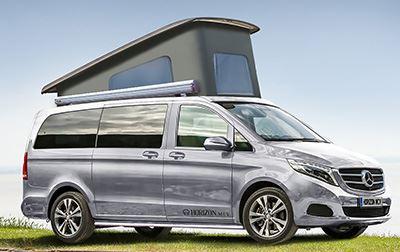 Horizon MCVs New Vito Camper Conversion