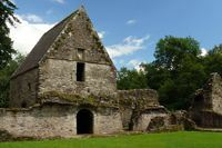 Inchmahome Priory in Central Scotland is a great attraction