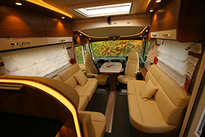 Creative This Gorgeous Motorhome Has Everything You Need On The Go A Lounge