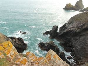 Kynance Cove on the Lizard in Cornwall