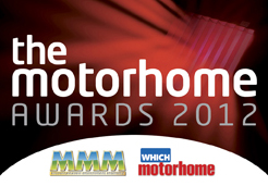 the Motorhome Awards 2012 logo