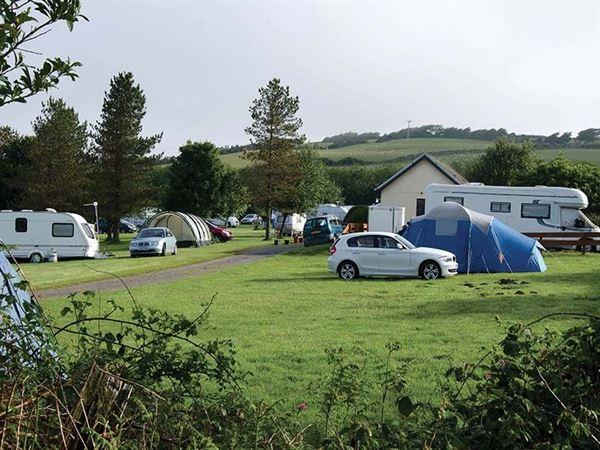 Lynton Club site welcomes motorhomes, caravans and tents