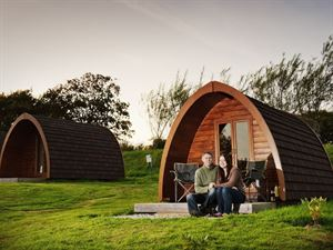 Camping pods are just one of the other alternative accommodation options
