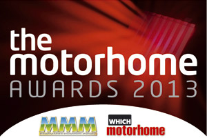 the Motorhome Awards 2012 logo