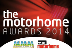 the Motorhome Awards 2014 logo