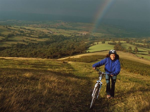 Mountain biking in the Brecon Beacons