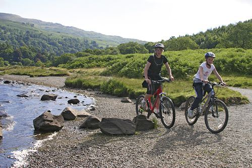 Mountain biking is a great family activity