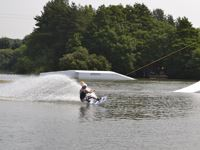 New Forest Water Park is a great place for water sports fanatics