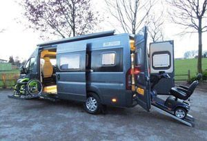 New wheelchair-accessible motorhome from WildAx ...