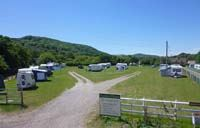 Norden Farm is a rural campsite on a working farm
