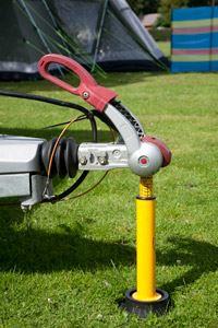 Caravan noseweight gauge accessory