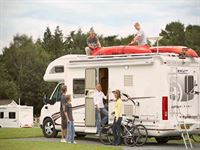 Oswestry, Cranberry Moss, Camping and Caravanning Club Site