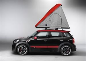 The roof-top tent works a treat whether the location for your beauty sleep is the English shires or the foothills of Kilimanjaro. & The Mini roof tent will give you an April full of fun - Camping News ...