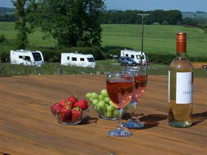 Perfect caravan pitches in the countryside