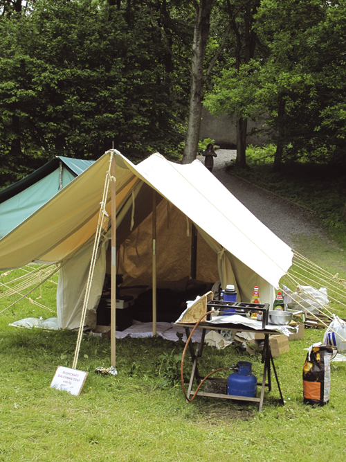 9. walled ridge tent & How to extend your tent - Practical Advice - Camping - Out and ...