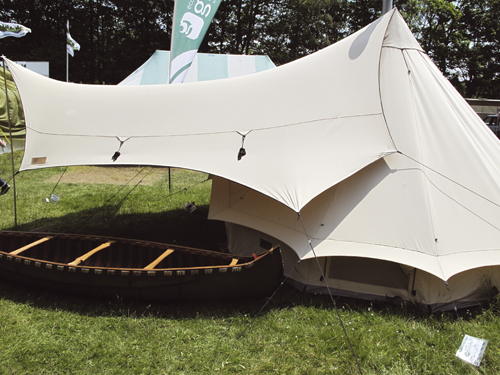 10. modern bell tent & How to extend your tent - Practical Advice - Camping - Out and ...