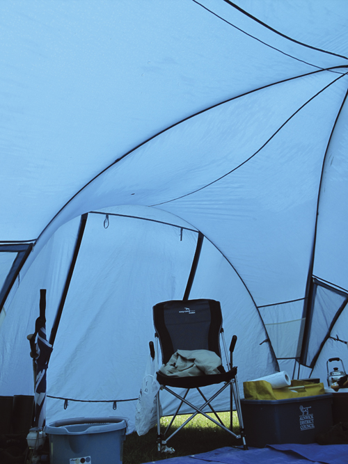 Condensation in your tent