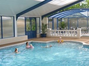 Indoor swiming pool is great for all the family