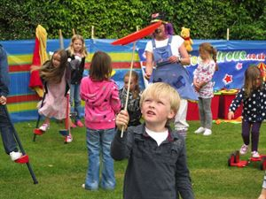 Lots to do for children with frequent events of archery, face painting and kids craft workshops
