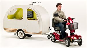 QT Van world's smallest caravan