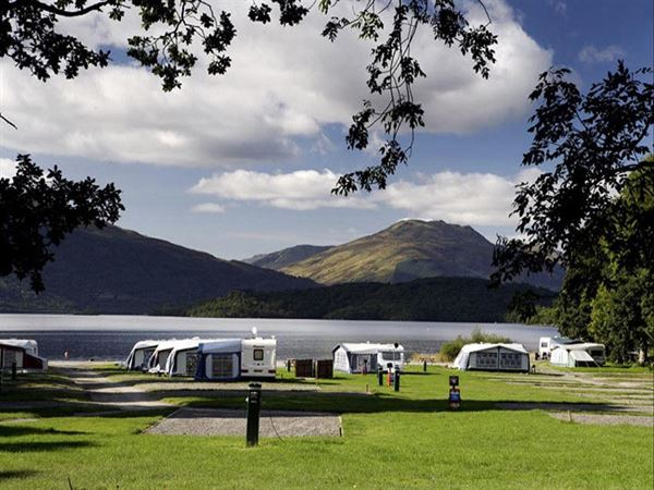 Cashel Campsite Loch Lomond