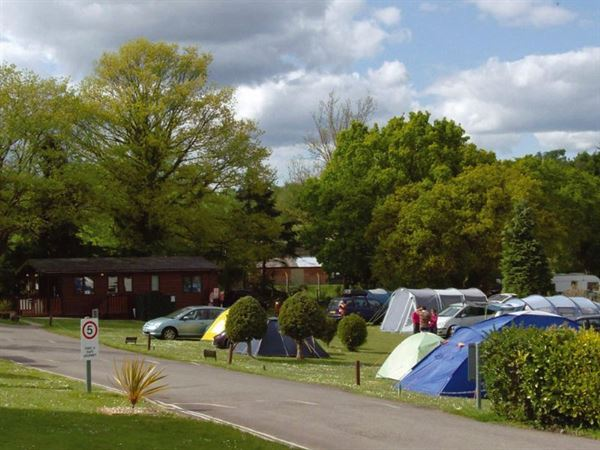 Tents, caravans and motorhomes all catered for at Riverside