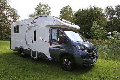 The Motorhome Awards 2015 Fixed Double Bed Motorhome Of