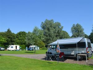 Hardstandings are available for motorhomes