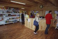 Rutland's campsite shop stocks all the basics