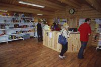 Rutland's campsite shop stocks all the basics