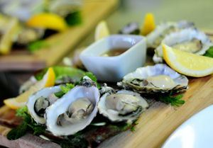 Sample some excellent seafood at The Shack, in Falmouth