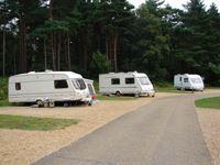 The Sandringham Estate Caravan Club Campsite, Norfolk