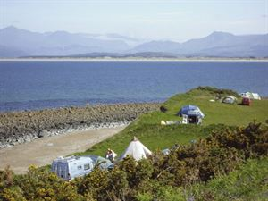 Stay at Shell Island when you visit Wales