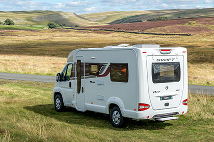 The Motorhome Awards 2015: Non-Fixed Bed Motorhome