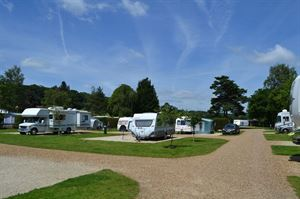 Swiss Farm is a smart campsite near Henley on Thames
