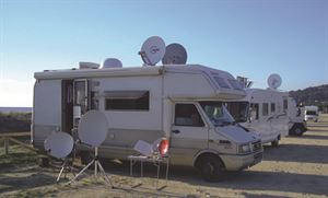 Satellite TV in your motorhome