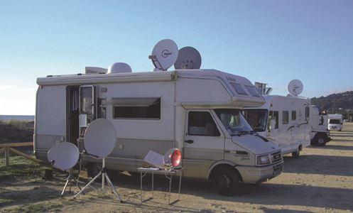 Satellite TV in your motorhome
