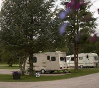Tarland is one of many campsites in Scotland offering seasonal caravan pitches