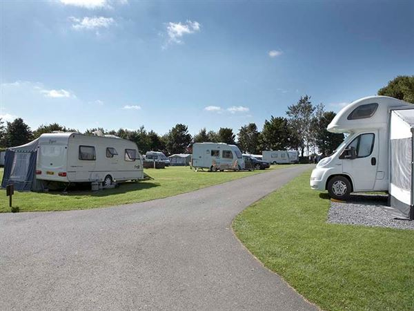 The Tavistock site has hardstanding pitches and good access roads