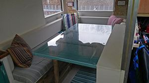 The table work area