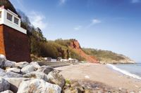 The beach at Babbacombe is one of Devon's many great beaches