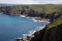 The Cornish coastline is dramatic and inspiring