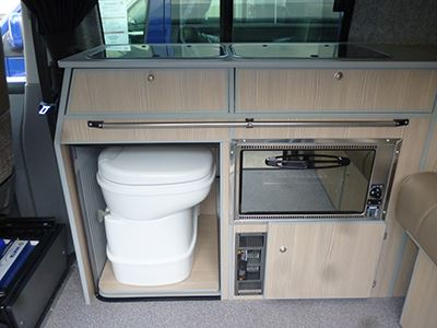 Slide Out Toilet In Classic Layout