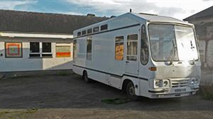 The finished motorhome, ready to go