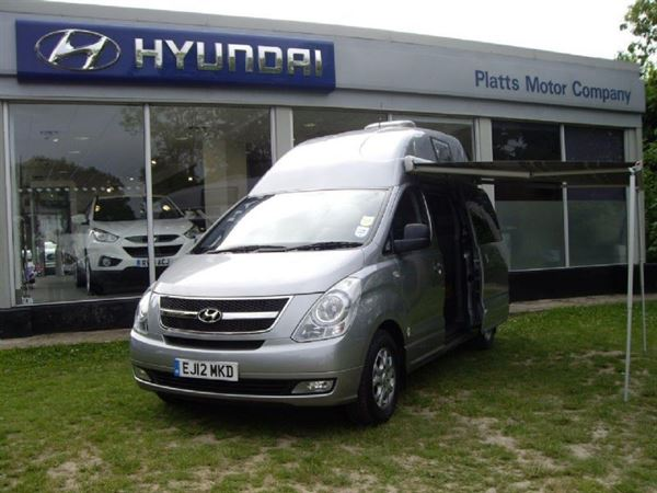 Three hyundai dealers to stock and sell its hyundai i800 campervan
