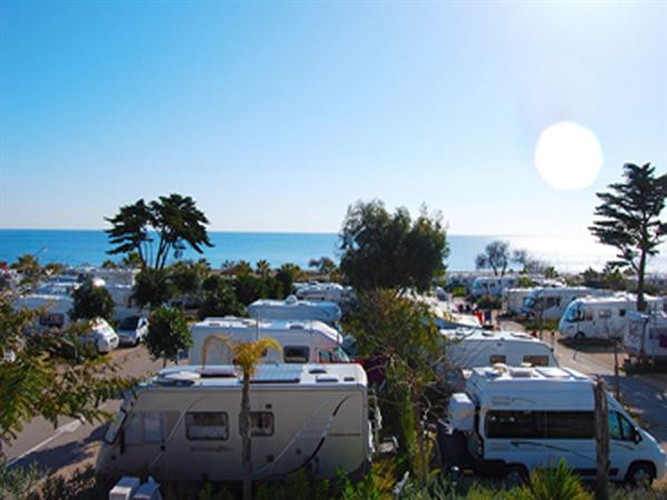The stunning location of Camping La Bella Vista